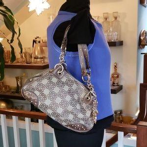 Kathy van Zeeland fabric handbag